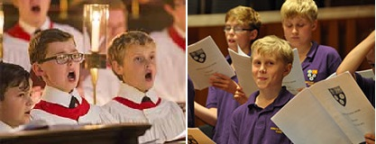 Kings college choir boys